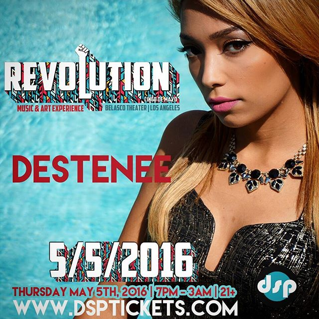 It's going down May 5th! Come out and join the movement  #revolutioncincodemayo Www.dsptickets.com