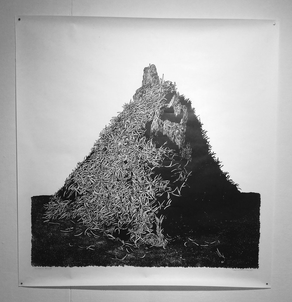 "Rebecca Gilbert, ""Thatched Mound"""