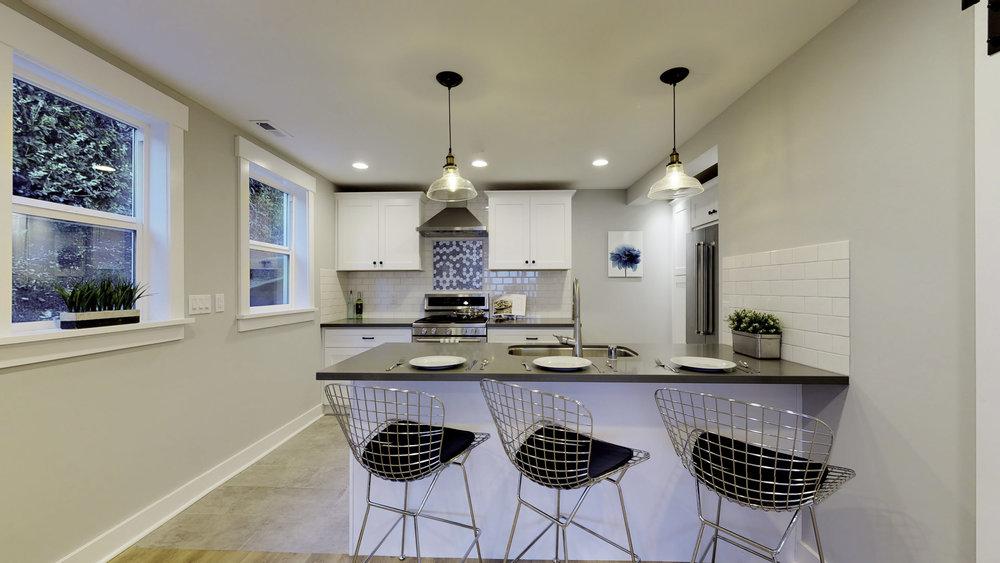 modern kitchen seattle