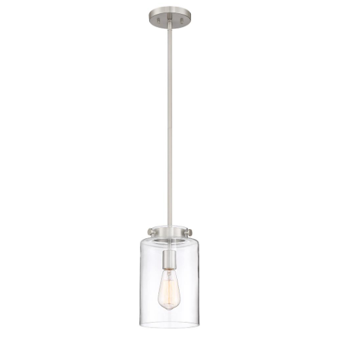 Glass Shade Pendant, Home Depot