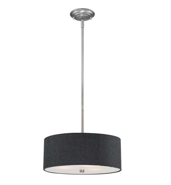 Drum Chandelier, Available from Wayfair