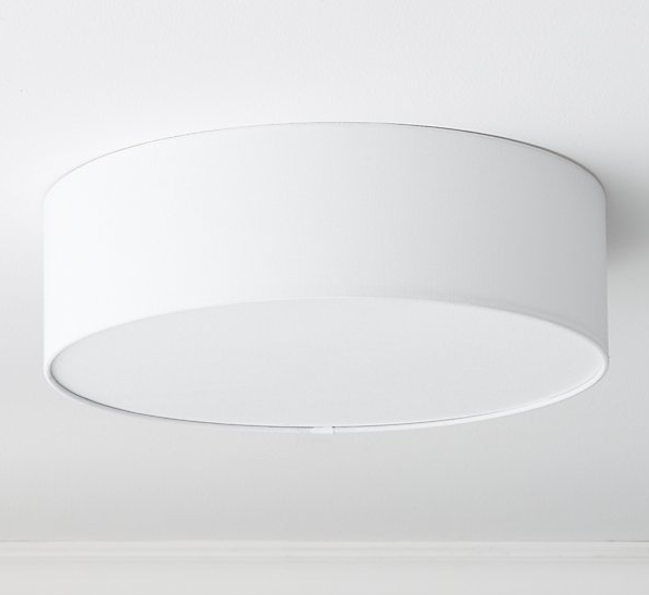 Drum Flush Mount, CB2