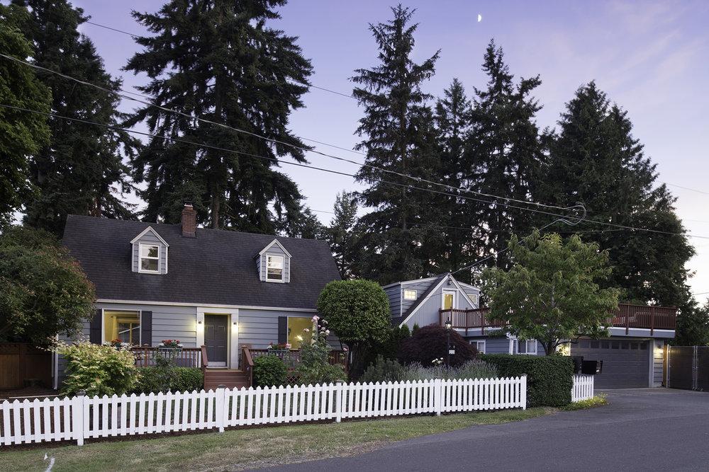 Evening Home Exterior