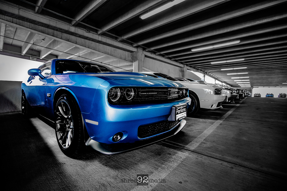 2016 SRT 392 in B5 Blue