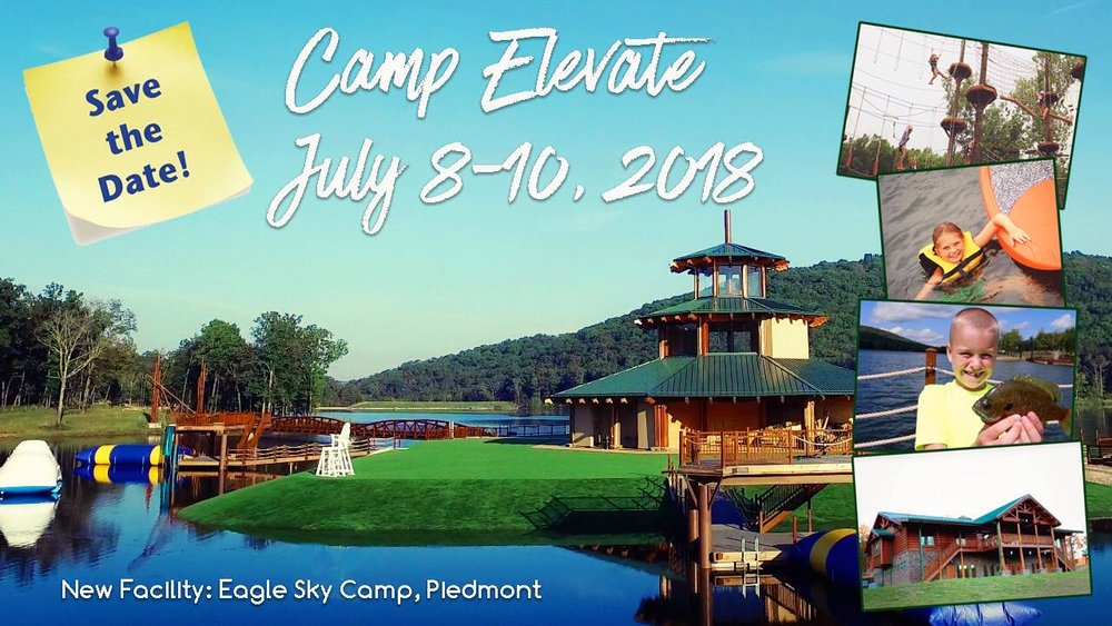 Camp Scholarships - Next Summer we are sending kids to a new camp, Eagle Sky! Your year-end giving helps a kid experience God and friends at camp!