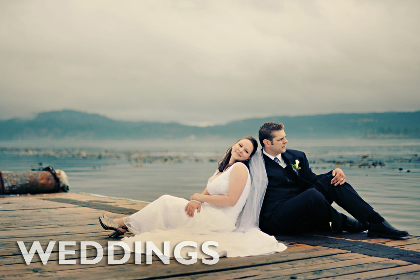 """Magical destination weddings in a natural west coast setting has made Dolphins Resort one of """"Canada's loveliest wedding venues"""" - Wedding Bells Magazine, 2016."""