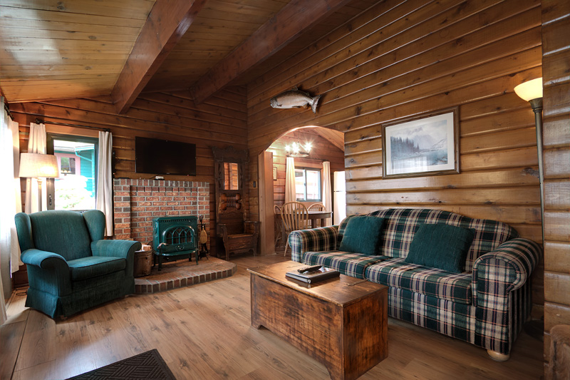 CABIN 2 - Two Bedrooms Cozy cabin with full ocean view and private hot tub.  From $189