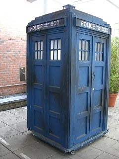 The madman's box: The TARDIS