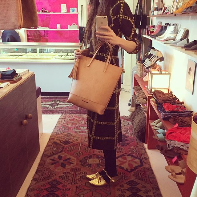 leather bag pop up still going strong @minnieandgeorge thru the month!