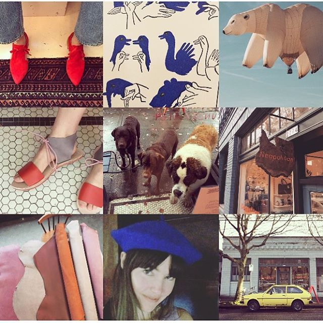 neapolitans best: shoes, animals, berets, leather, and storefront scenes💙