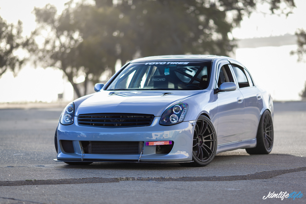 michael ramos 39 boosted g35 sedan jdmlifestyle. Black Bedroom Furniture Sets. Home Design Ideas