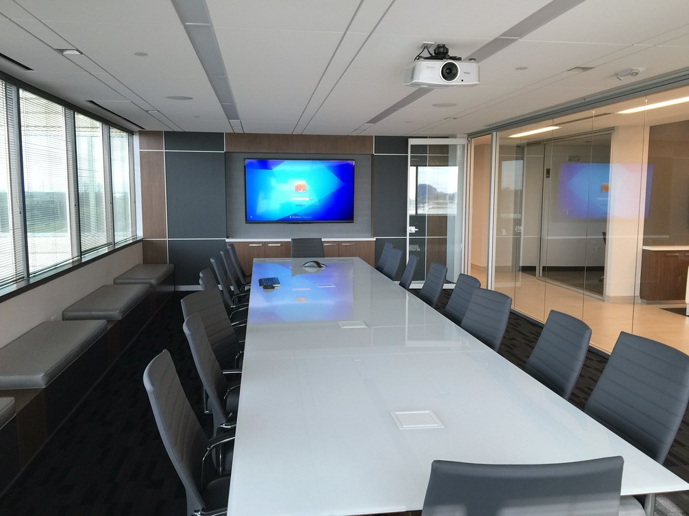 NAI Hiffman Oak Brook  click image to watch video wall install
