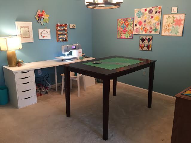 lisa sewing space