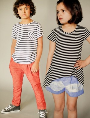 Banyan Tee for Girls and Boys (pattern includes the pants/shorts)