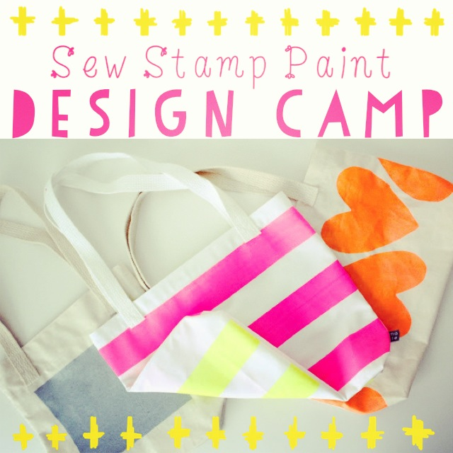 sew stamp paint camp