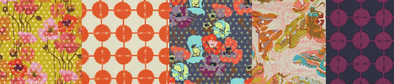 Rayon Challis and Voile Fabrics by Anna Maria Horner