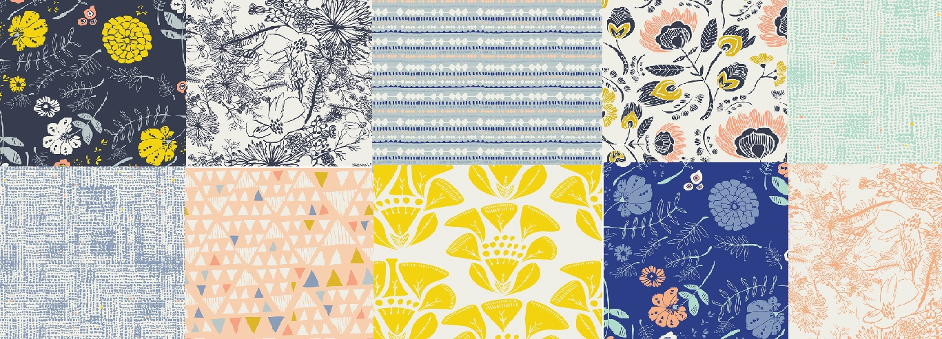 Leah Duncan's new line called Tule- Just arrived today! By Art Gallery Fabrics.