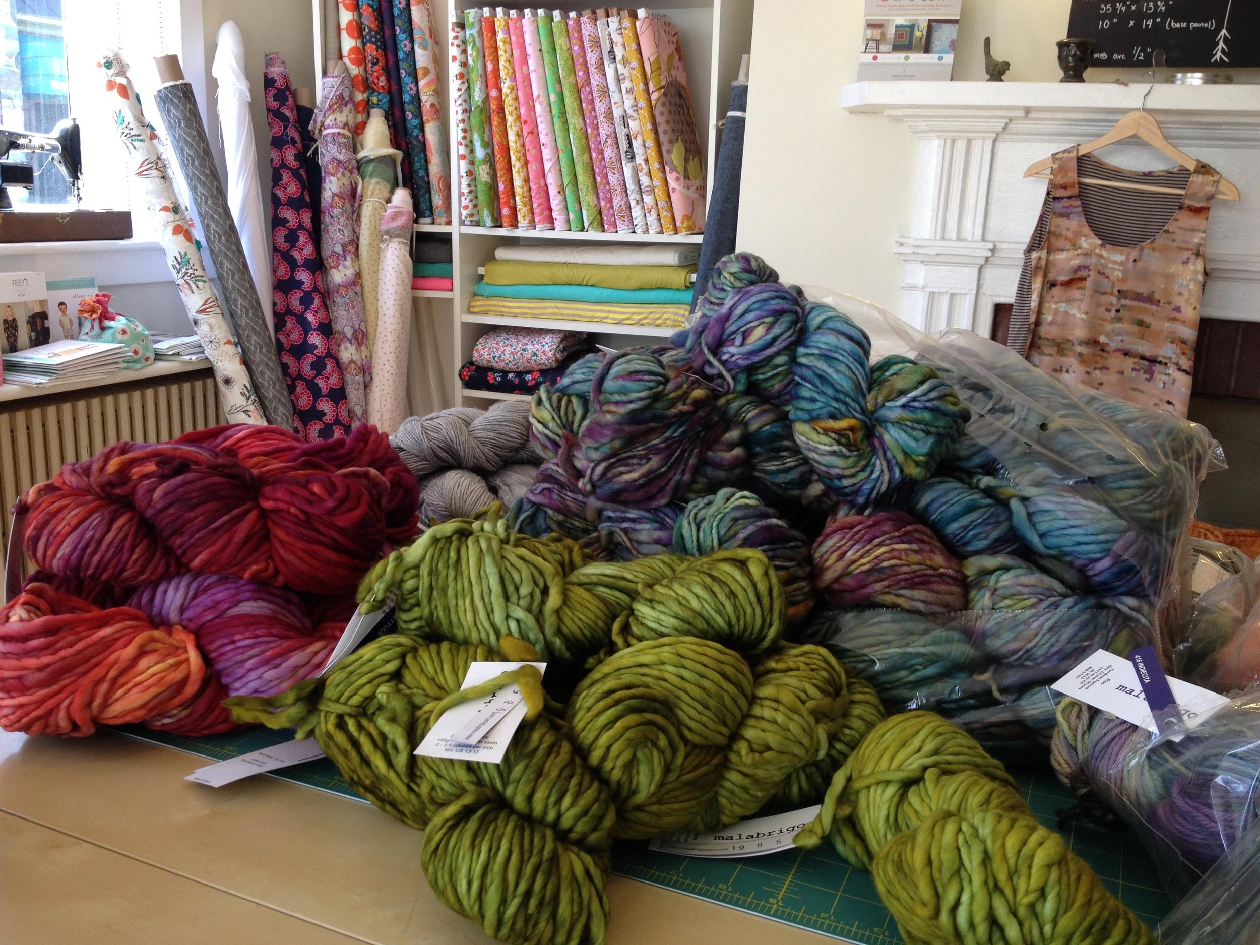 yarn arrival