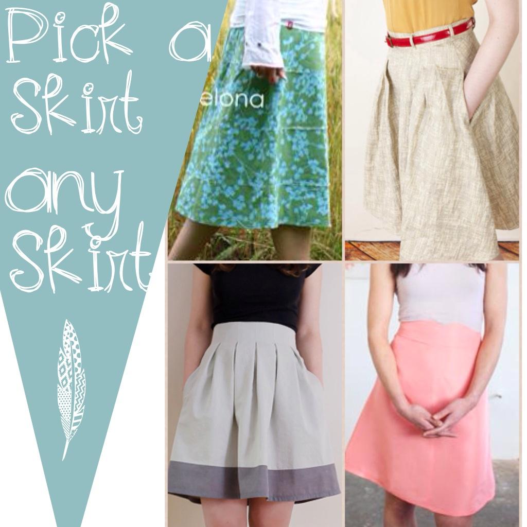 Pick Your Own Series: Women's Skirt
