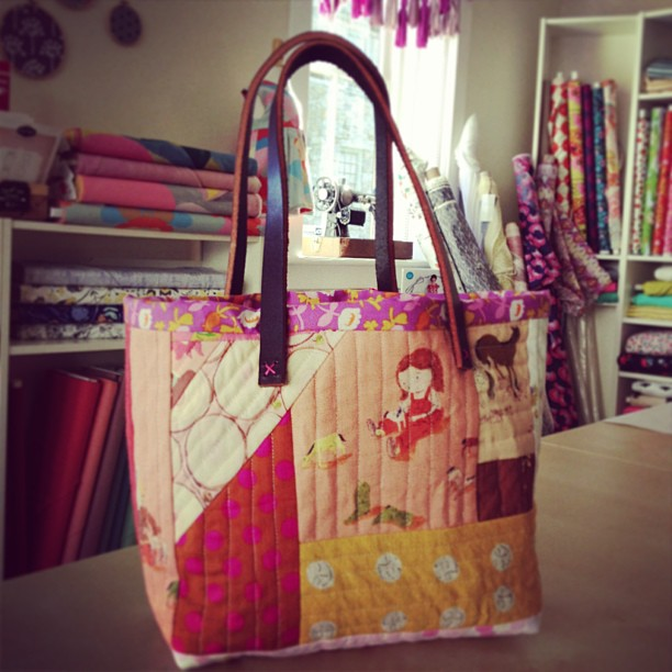 Quilt as you Tote Basket