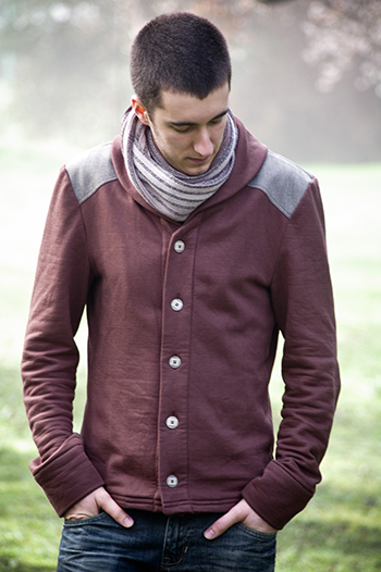 Newcastle Cardigan by Thread and Theory Patterns