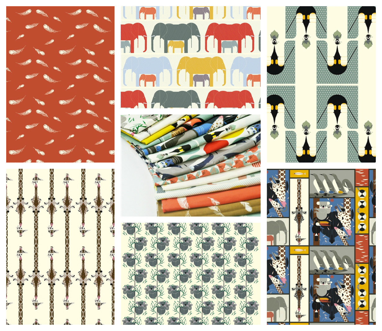Charley Harper QC Collage