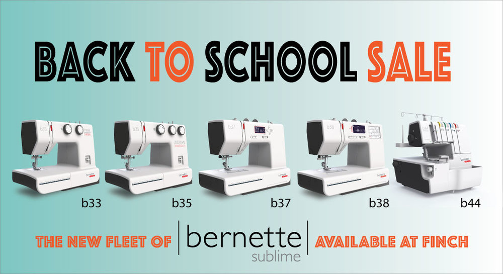 Get ready to sew... - Classes and Machines on sale, August 16th-27th!
