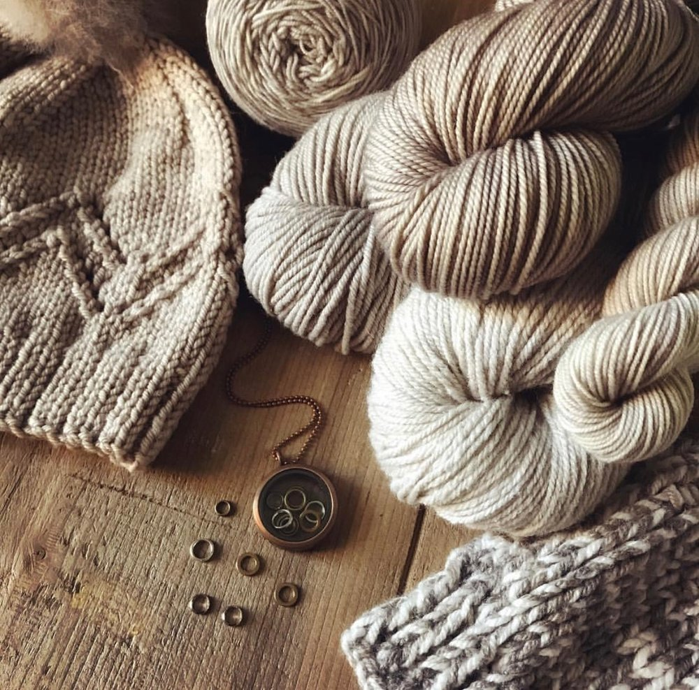 Magpie Trunk Show! - This Saturday, October 14th, Magpie Fibers will be with us to show their beautiful hand dyed yarns in a trunk show and pop up shop. Come along to Finch between 11am and 4pm to browse these stunning yarns and chat with the folks from Magpie! We're sure it will get you feeling inspired for your next knitting project.