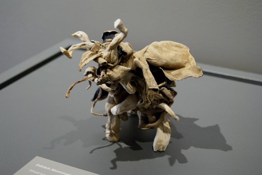 Eldritch Abomination No.2 (Mastodon) 2014. Mixed Fungus