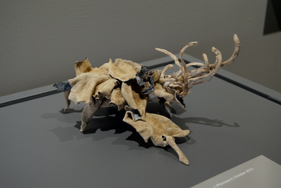 Eldritch Abomination No.1 (Pterosaur) 2013. Mixed Fungus