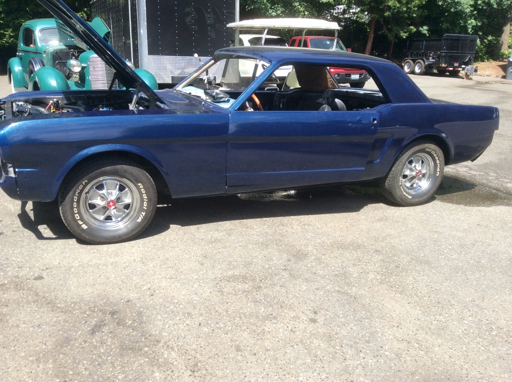 1966 Ford Mustang Coupe — Jim\'s Classic Garage Pre-War & Muscle Cars
