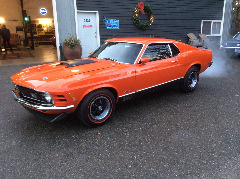 "1970 Ford Mustang Mach 1<div class=""price"">complete</DIV>"