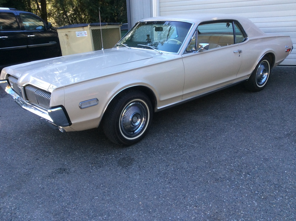 "1968 Mercury Cougar<div class=""sold"">sold</div>"