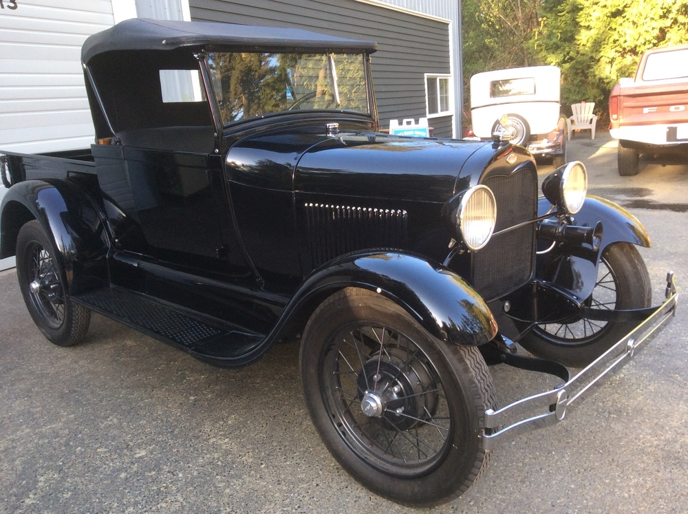 """1929 Ford Model A Truck<div class=""""sold"""">sold</div>"""