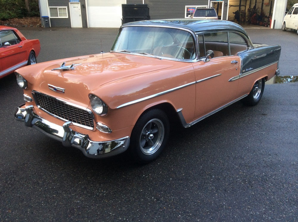 "1955 Chevy Bel Air<div class=""sold"">sold</div>"