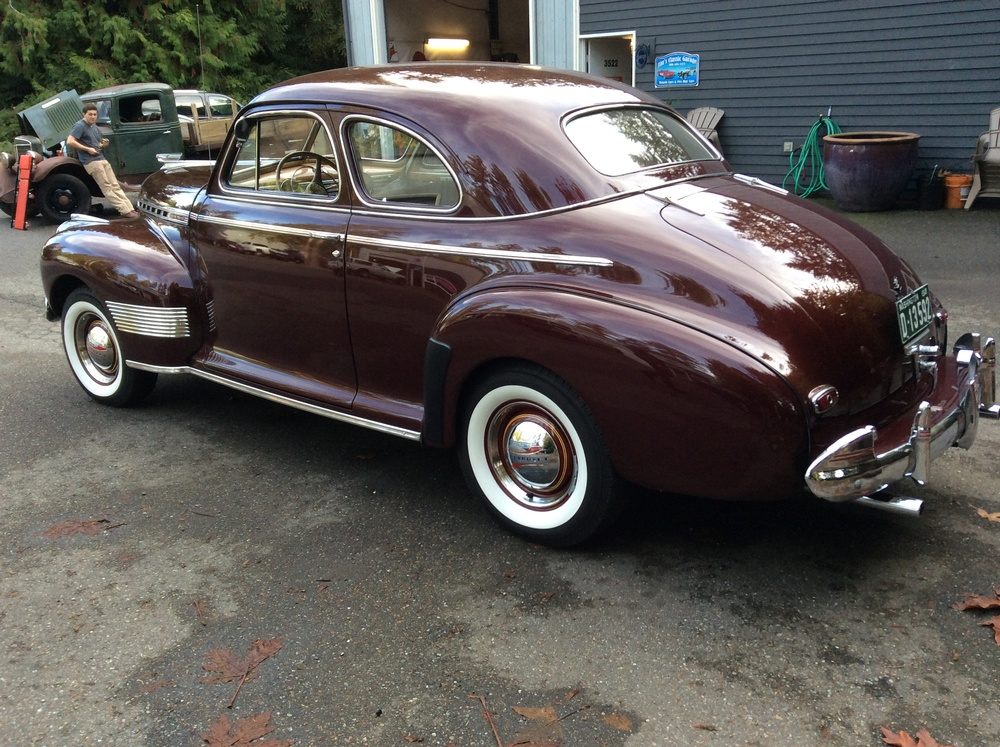 "1941 Chevy Special Deluxe<div class=""sold"">sold</div>"