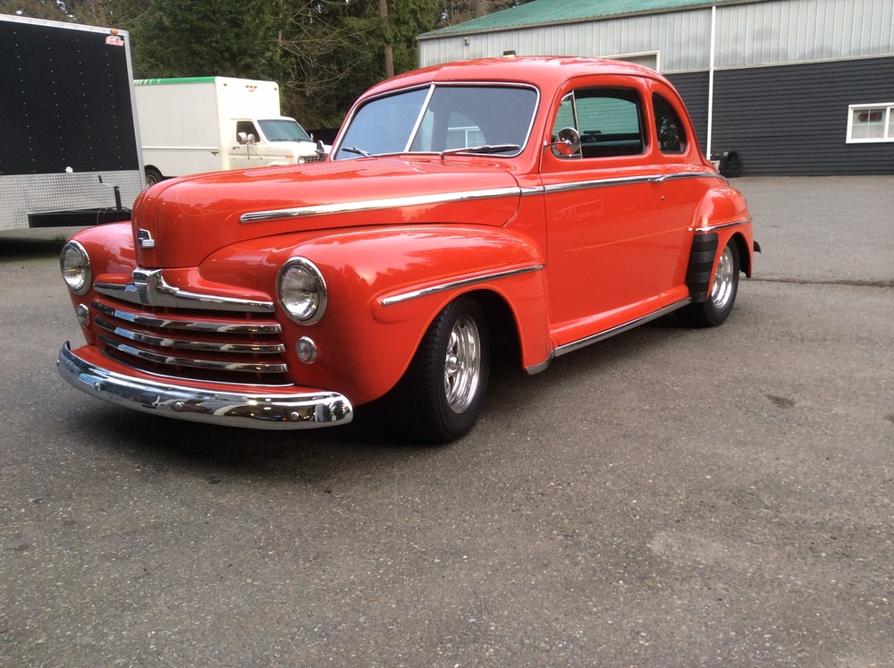 "1947 Custom Ford Super Deluxe<div class=""sold"">sold</div>"