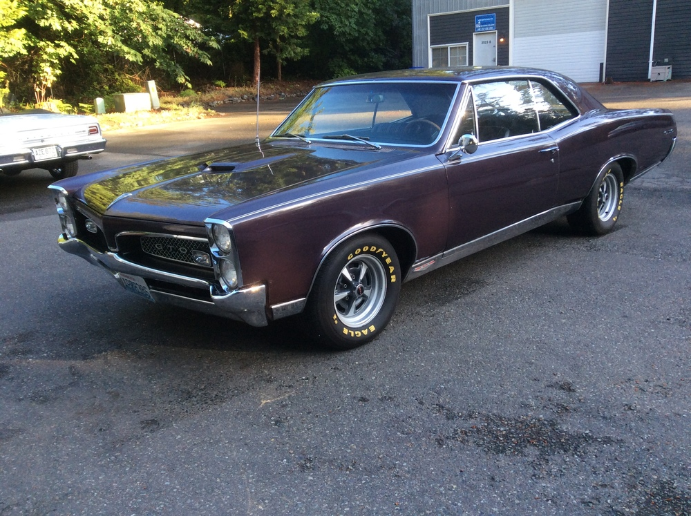 1967 Pontiac GTO — Jim\'s Classic Garage Pre-War & Muscle Cars