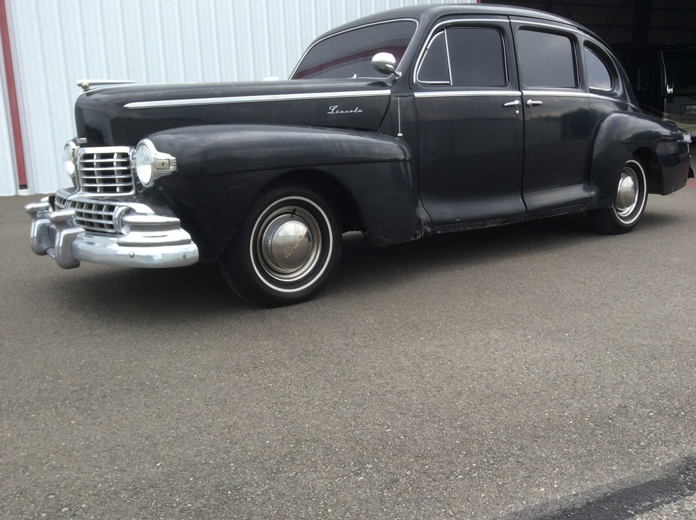 "1948 Lincoln Zephyr Sedan<div class=""price"">$14,500</div>"