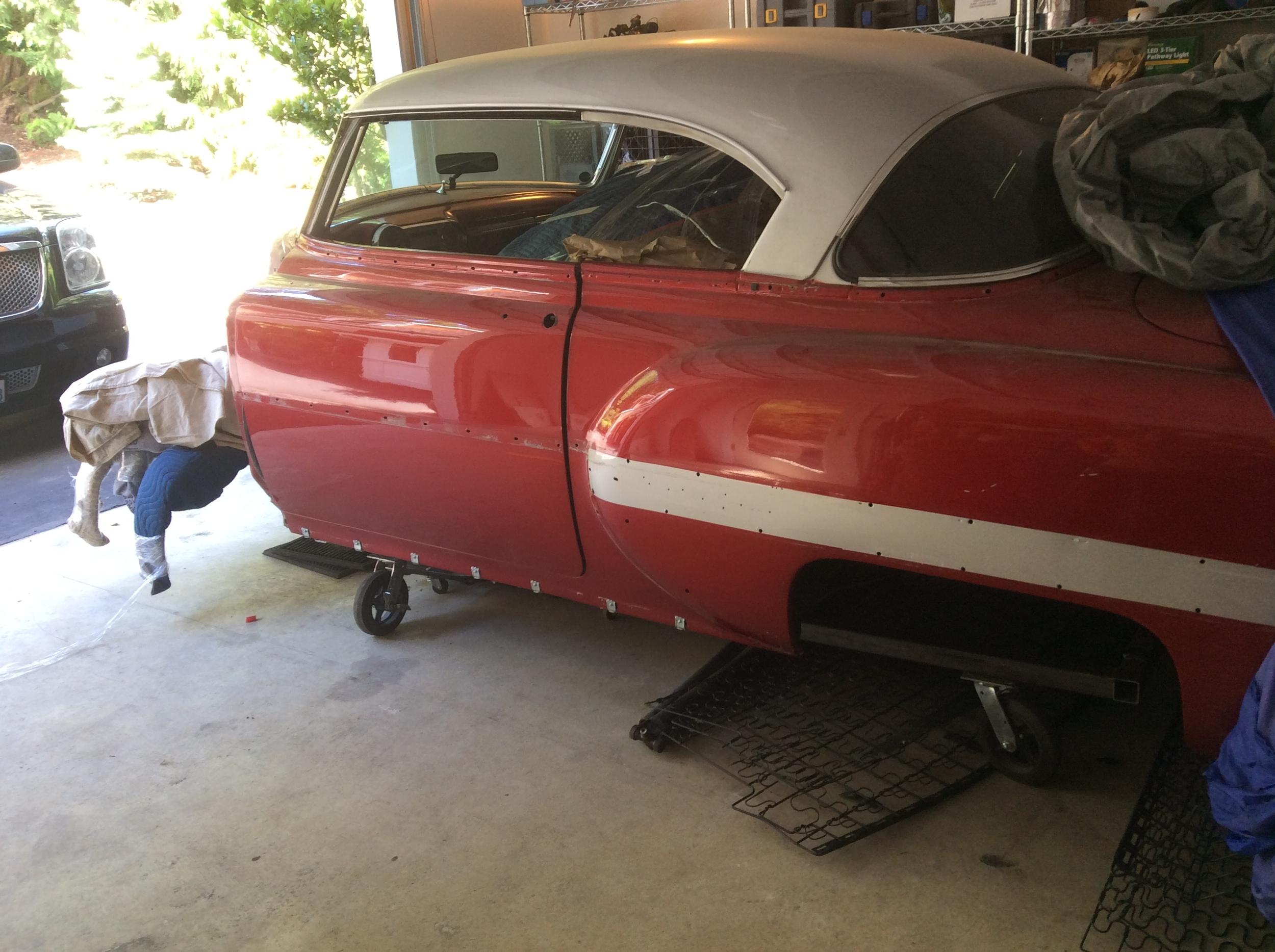 1954 Chevy Bel Air Special Jims Classic Garage Pre War Muscle Cars Chevrolet 4 Door