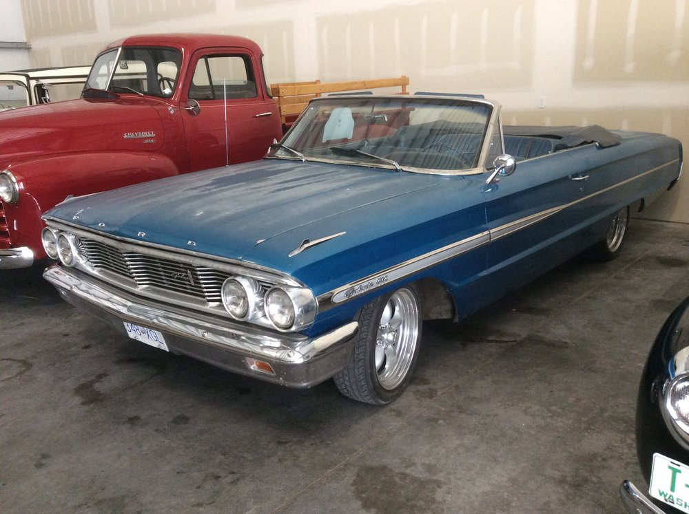 "1964 Ford Galaxie<div class=""sold"">SOLD</div>"