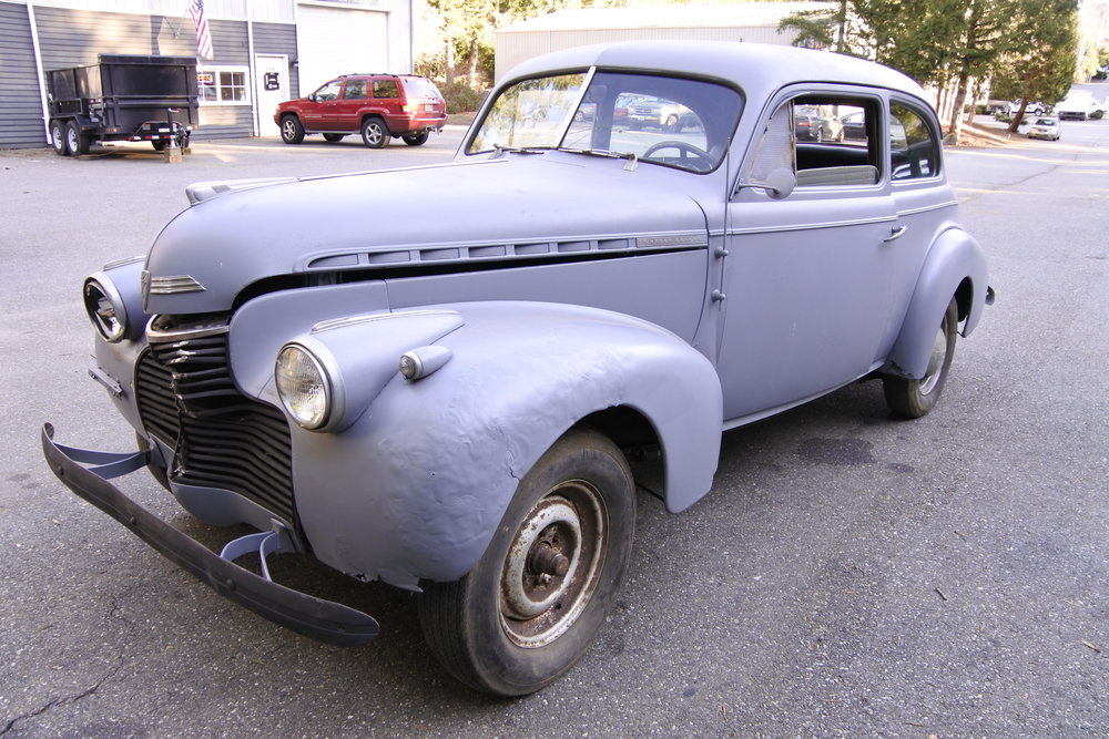 "1940 CHEVY MASTER DELUXE <div class=""IN PROCESS"">In Process</div>"
