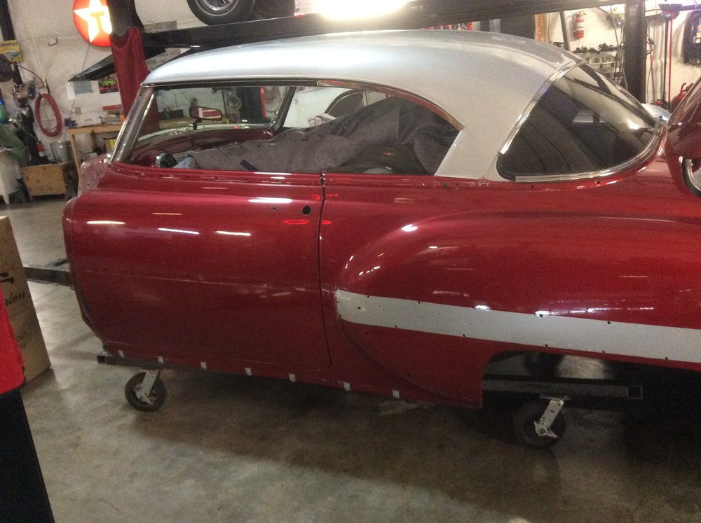 "1954 Chevy Bel Air Special<div class=""sold"">SOLD</div>"