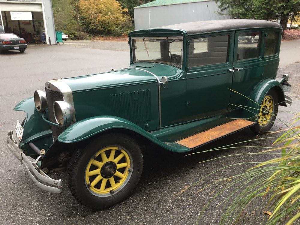 """1929 Graham Page<div class=""""sold"""">SOLD</div>"""