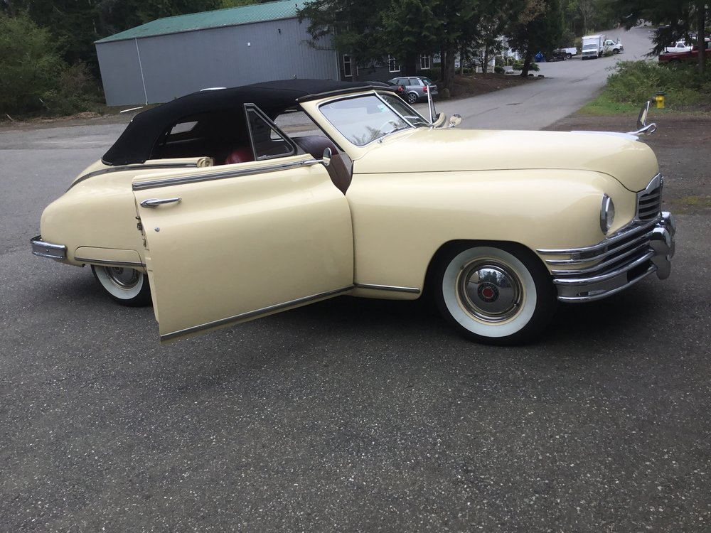 "1948 Packard Convertible<div class=""sold"">SOLD</div>"