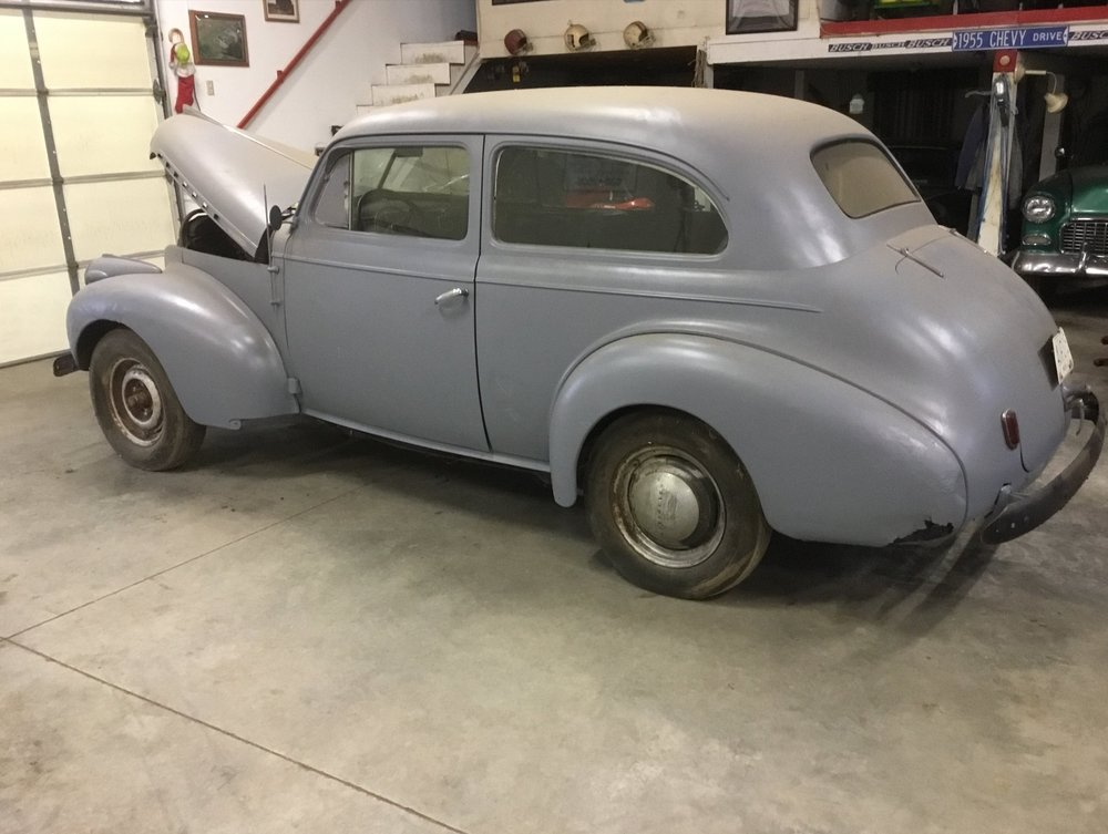 "1940 CHEVY MASTER DELUXE SEDAN<div class=""price"">$8,750</div>"