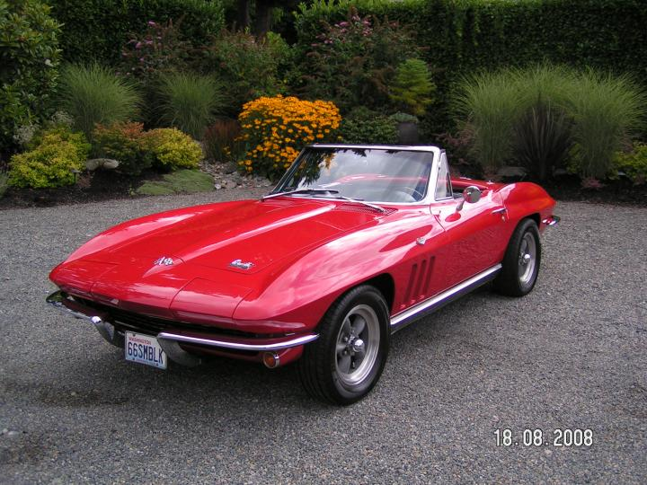 "1966 Chevrolet Corvette <div class=""sold"">SOLD</div>"