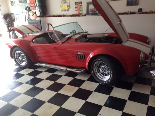 "1966 Shelby Cobra Replica<div class=""sold"">SOLD</div>"