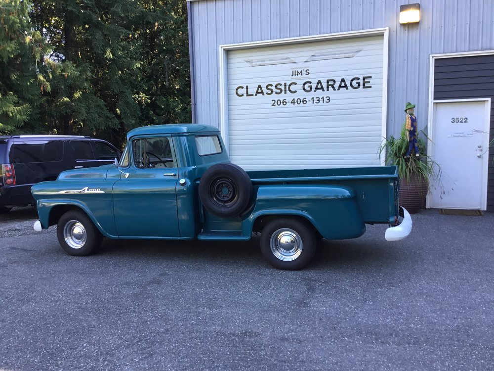 "1958 Chevy Apache<div class=""sold"">SOLD</div>"