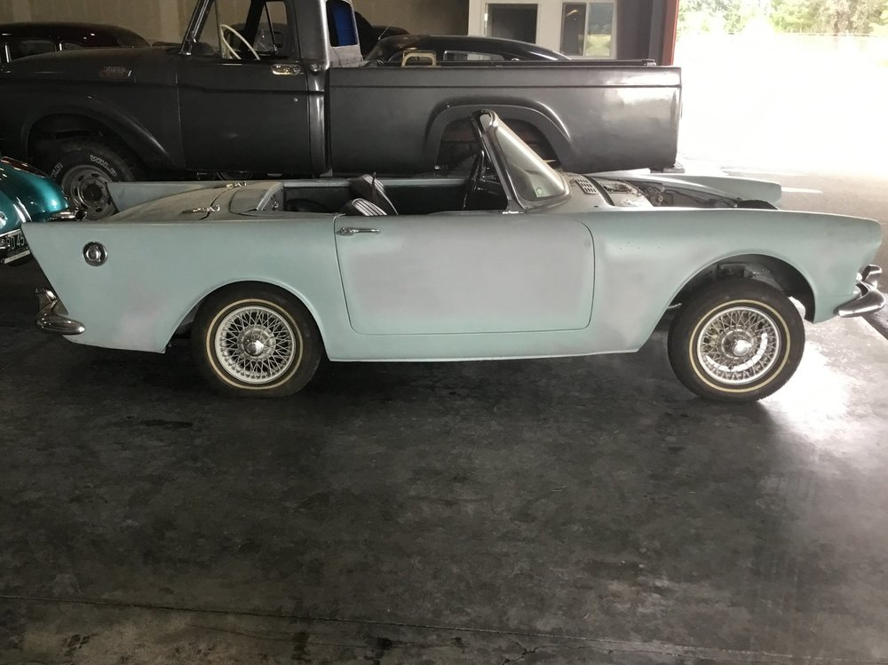 "1962 Sunbeam Alpine Series II<div class=""sold"">SOLD</div>"